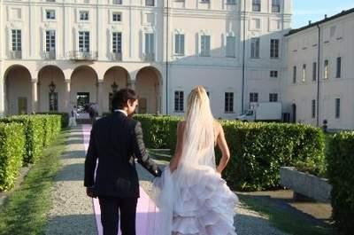 Il pink wedding di Giada e Luca