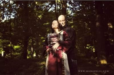 Temático: um casamento medieval