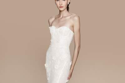 Vestidos de noiva Marchesa 2018: um look sofisticado para o dia do seu casamento
