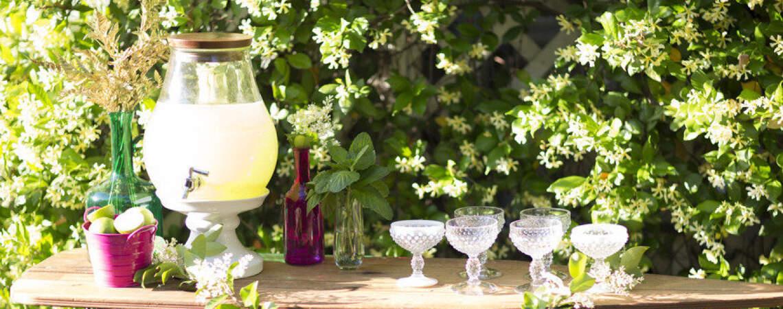 Die schönsten Ideen, um Limonade bei der Hochzeit zu servieren – Erfrischende Inspirationen 2017