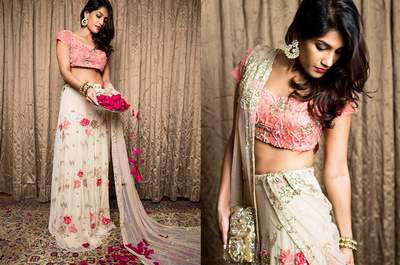 How to choose your sangeet outfit - razzle and dazzle the night away