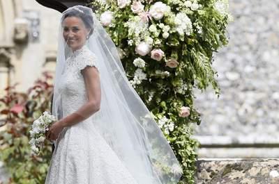 Vestido de novia de Pippa Middleton. Credits: Cordon Press
