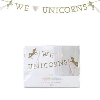 Bannière Décorative Licorne - The Wedding Shop !