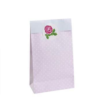Bolsas Románticas Rosas 5 Unidades- Compra en The Wedding Shop