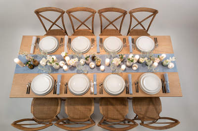 Künstlerische Tischdekoration: Ideen und Inspirationen von Options für Ihren Hochzeitstisch!