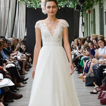 Créditos: Amsale | New York Bridal Week.