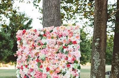 Jardins verticais perfeitos para fotos de sonho: para ti, todas as flores do meu jardim!
