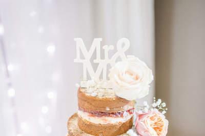 Muñecos originales para tartas de boda. ¡Personalidad en los detalles pequeños!