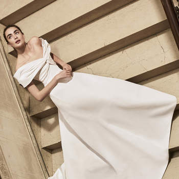 Carolina Herrera 2019. Credits: Barcelona Bridal Fashion Week