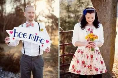 Servizio fotografico prematrimoniale ispirato al giorno di San Valentino. Credits Jodi Miller Photography