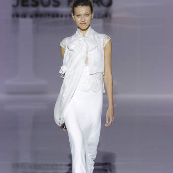 Jesús Peiró. Credits: Barcelona Bridal Fashion Week