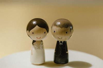 Figurki na torcie weselnym ! Najpiękniejsze zdobienia w tej galerii!