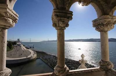 Vista do Rio Tejo da Torre de Belém. Foto: http://www.visitportugal.com Facebook