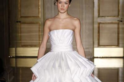 Moderne und futuristische Brautkleider 2013
