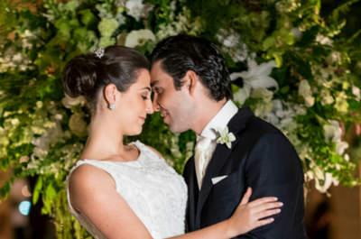 Casamento clássico de Carolina e Marcos: exuberância verde e muito glamour no Jockey de São Paulo!