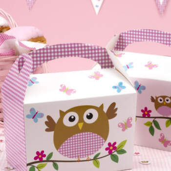 Fiambrera papel baby girl 8 unidades- Compra en The Wedding Shop