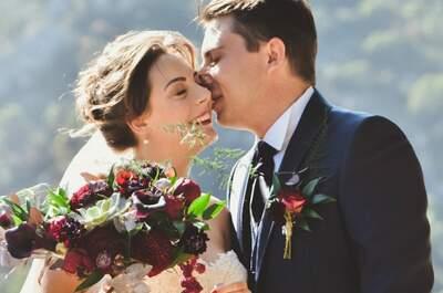 Amandine + Corentin : Un vrai mariage de conte de fées aux belles couleurs de l'automne dans le Vaucluse