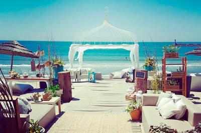 Set Lounge Beach Weddings: magia e good vibes num casamento descontraído