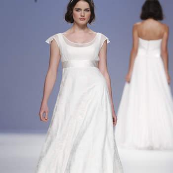 Um orgulho para a moda portuguesa: Joana Montez e Patrícia de Melo deslumbraram a assistência da Gaudí Noivas com a delicadeza e a qualidade artesanal da sua colecção de vestidos de noiva 2013.