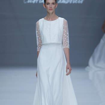 Cristina Tamborrero. Credits: Barcelona Bridal Fashion Week