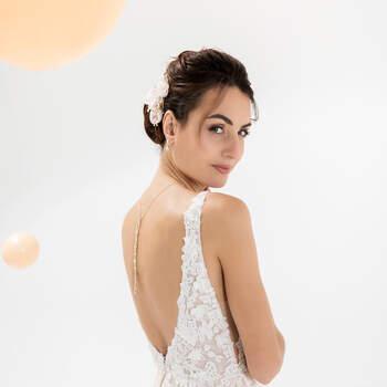 Photo : Eglantine Mariages & Cérémonies, robe Karla