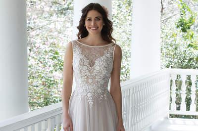 Sincerity Bridal 2017 : des robes féminines pour une mariée resplendissante !