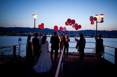 Hochzeit am Zürcher See: Zazu und Peter's Ja-Wort als Inspiration für Ihre eigene Hochzeit!
