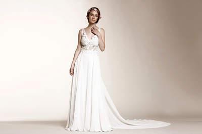¡Ponle ojo a las cinco tendencias en vestidos de novia que tenemos para ti!