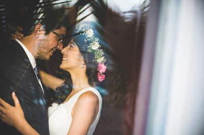 Durgha y Diego: amigos que se reencuentran para iniciar una bella historia de amor