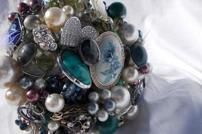 Trend Alert: Brooch and Jewelled Forever Bouquets