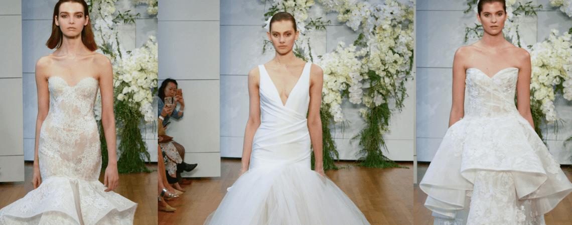 Vestidos de novia Monique Lhuillier 2018: Los diseños más chic de la temporada