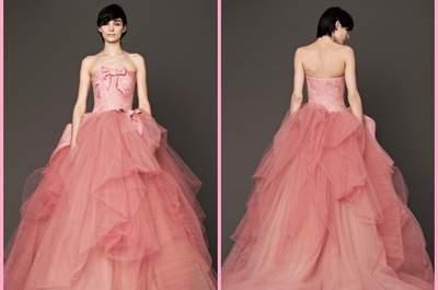Collezioni Sposa 2015: 50 sfumature di... rosa, per Vera Wang con