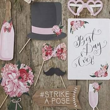 Photocall Boho Chic 10 pièces - The Wedding Shop !
