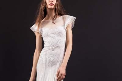 Vestidos de novia Temperley London 2017: El romanticismo se reinventa