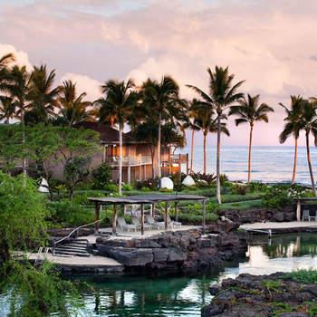 Megan Fox e Brian Austin passaram uma lua-de-mel romântica no Four Seasons Hualalai, na exclusiva Kona Coast, no Hawaii.  Foto: Four Seasons Hualalai