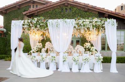 Decorações para casamento MEGA sofisticadas e glamourosas: deslumbrantes!
