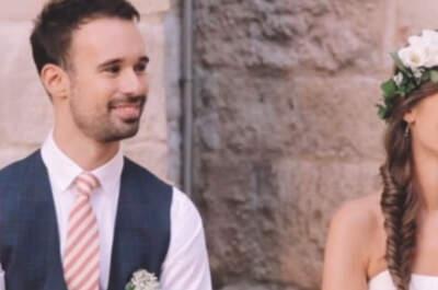 ¿Qué es el amor?: el discurso más especial de la boda Mercedes y Armando