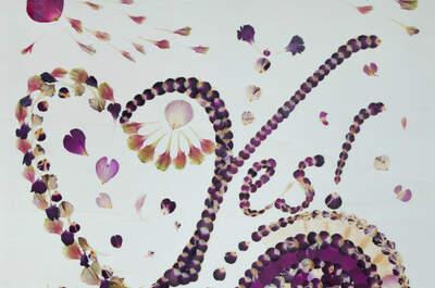 Ein Brautstrauß für die Ewigkeit - Flora Metaphorica kreiert Kunstwerke aus Blumen