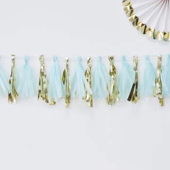 Borlas Decorativas Azul Claro - Compra en The Wedding Shop