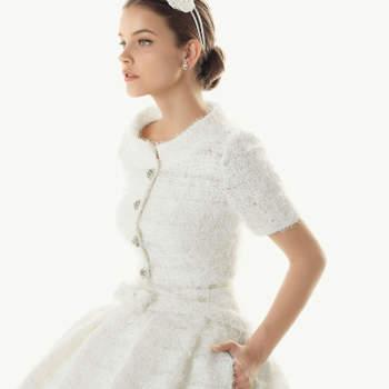 A colecção de vestidos de noiva Rosa Clará 2013 traz-nos alguns pormenores absolutamente deliciosos. Este é o nosso top 10.