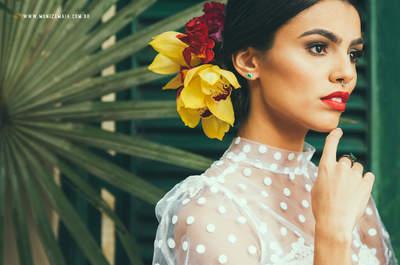 Colores y personalidad en tu boda, un estilo inspirado en la artista Frida Kahlo