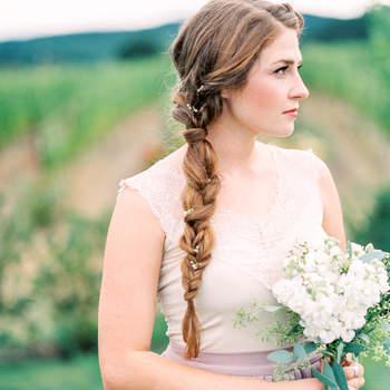 Свадебные прически с косами 2017. Тенденция, которая всегда в выигрыше!