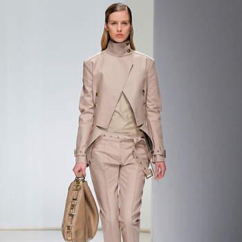 Completo pantalone color sabbia