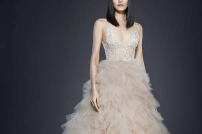 Discover the Opulence of Lazaro's 2017 Wedding Dress Collection