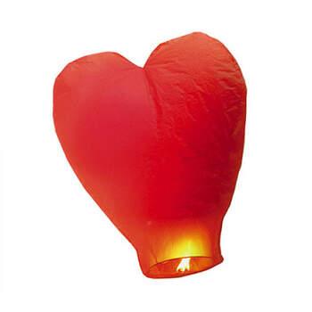 Farolillo chino corazón rojo- Compra en The Wedding Shop