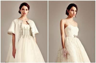 Vestidos de novia cortos por delante y largos por detrás 2016: la tendencia más chic