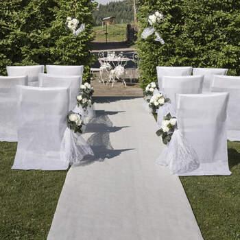 Alfombra De Boda Blanco- Compra en The Wedding Shop