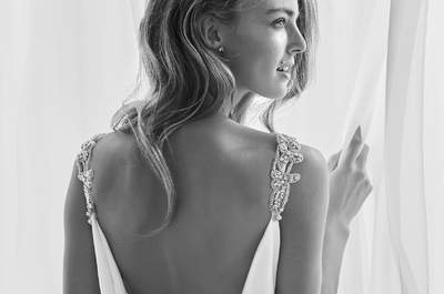 50 abiti da sposa scollati sulla schiena: apoteosi della sensualità