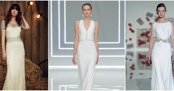 ef3c6e0b02 Suknie ślubne dla niskich kobiet 2017. 40 wzorów