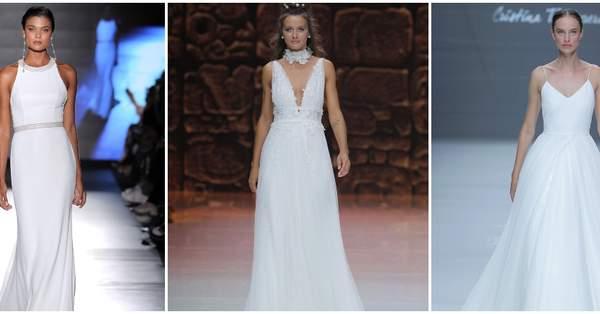 2c6690986 45 vestidos de novia para mujeres con mucho pecho